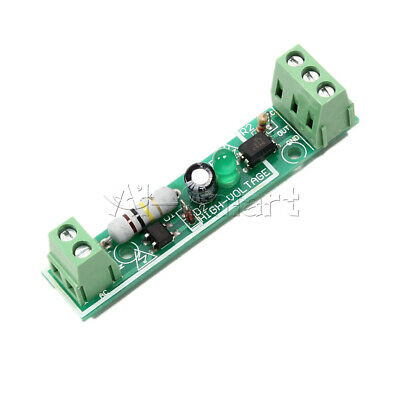for PLC AC 220V 1-Bit Optocoupler Isolation Module Voltage Detect Board Adaptive 7
