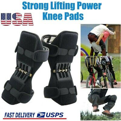 1Pair Power Knee Stabilizer Pad Lift Joint Support Powerful Rebound Spring Force 3