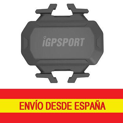 iGPSPORT Sensor de Cadencia C61 ANT+ 2.4G Bluetooth IPX7 Garmin Bryton Sigma Mio 10