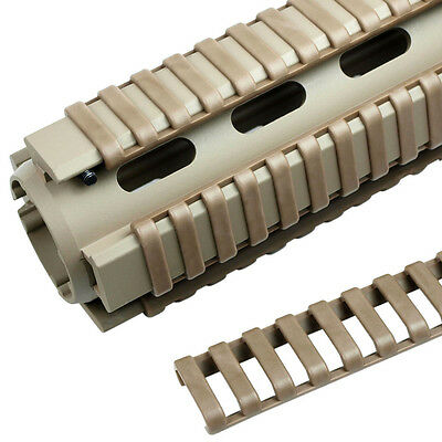 Pack of  4  Heat Resistant Rifle Handguard Weaver Picatinny Ladder Rail Cover
