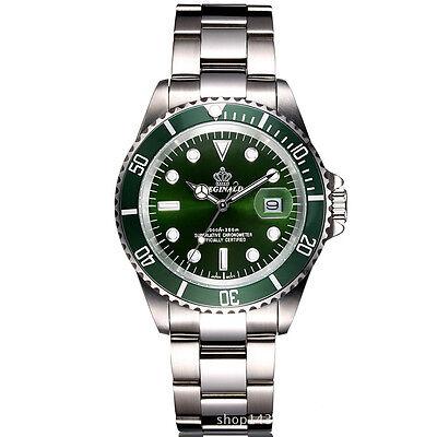 REGINALD Luxury Men's Wrist Watch Analog Sports Sapphire Glass Rotatable Bezel