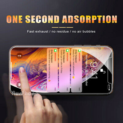 2x Nuglas Tempered Glass Screen Protector For iPhone XS Max X 8 7 6 6S Plus 5