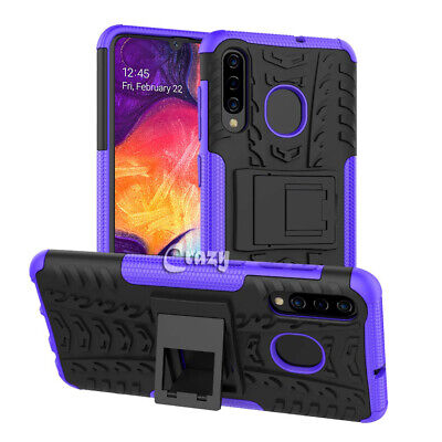 Samsung Galaxy A20 A30 A50 A70 Heavy Duty Shockproof Rugged Case Bumper Cover 4