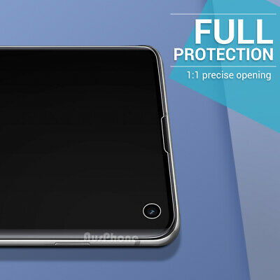 SAMSUNG GALAXY S10 5G PLUS S10e HYDROGEL AQUA FLEXIBLE Crystal Screen Protector 10
