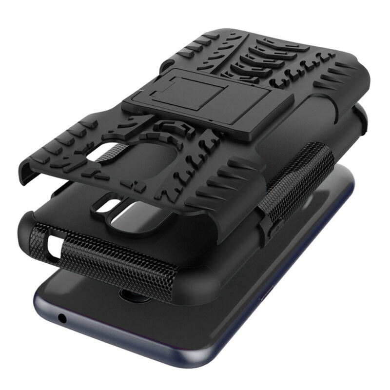 For Samsung Galaxy J2 Pro 2018 Hybrid Armor Case Shockproof Hard Cover Phone 6