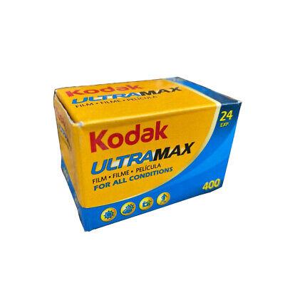 100 Rolls Kodak UltraMax 400 35mm Film GC24 135-24 Exp GOLD Color Print Expired 2