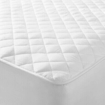 Extra Deep Quilted Mattress Bed Protector Topper Fitted Cover Double King Size 2