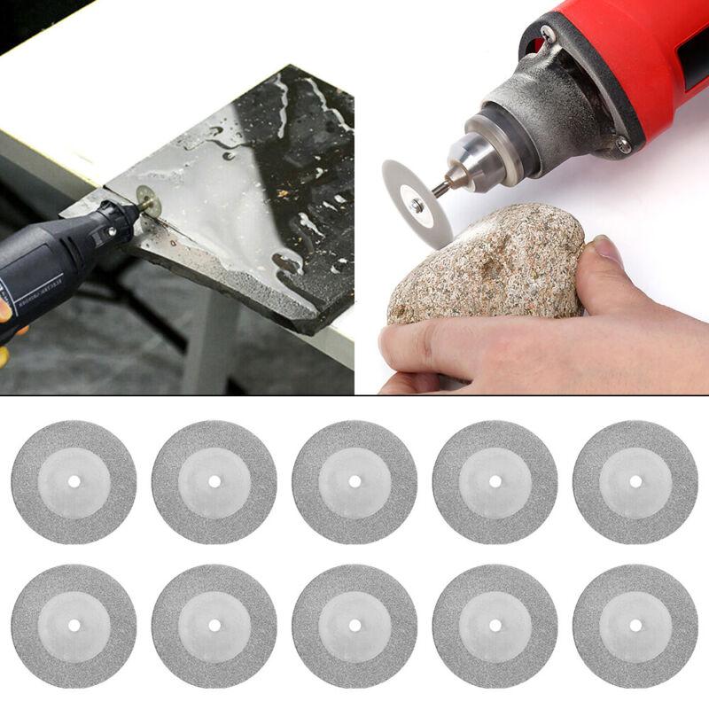 10x Diamond Cutting Off Disc Saw Blades Grinding Wheel for Dremel Rotary 30mm CC 4