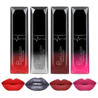 21 Colors Women Matte Liquid Pencil Lipstick Lip Gloss Waterproof Lasting Makeup 9