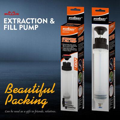 Fluid Extraction Filling Syringe Transfer Liquid Pump Oil Extractor Automotive 8