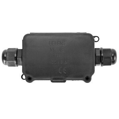 Packs 2/3 Way Outdoor Waterproof IP66 Underground Cable Connectors Junction Box 7