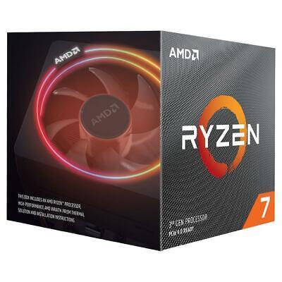 NEW AMD Ryzen 3 5 7 9 3600 3700X 3800X 3900X AM4 Desktop Computer CPU Processor 6