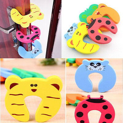 4Pcs Kid Finger Protector Door Stopper Lock Jammers Pinch Guard Babies Safety 2