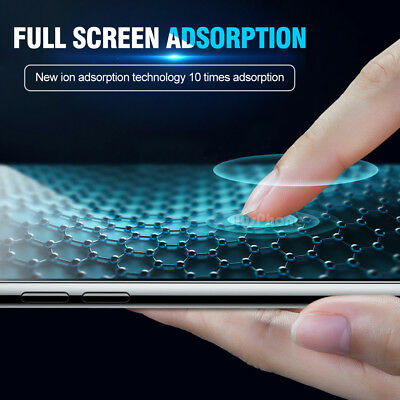 Tempered Glass Screen Protector Apple iPhone 11 Pro X XS Max XR 8 7 5S 6S Plus 6