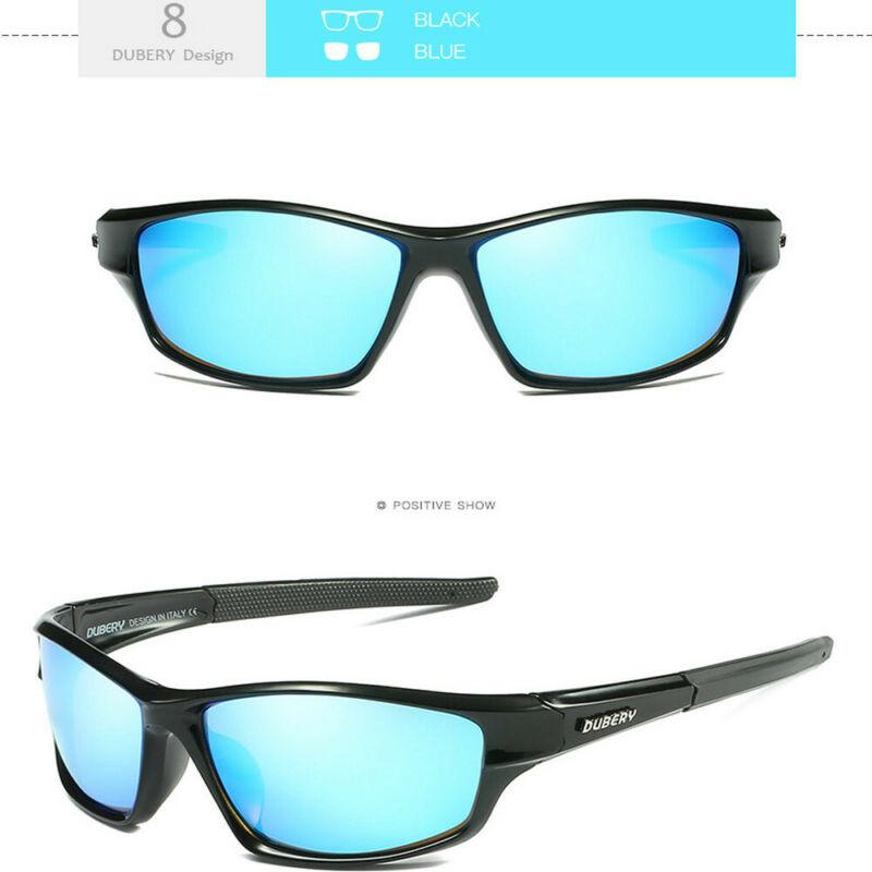 DUBERY Men's Polarized Sport Sunglasses Outdoor Riding Fishing Goggles Glasses 5