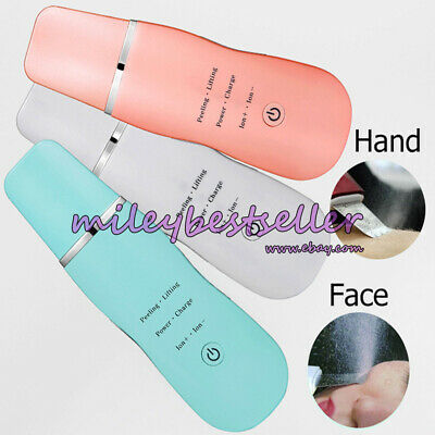 Pro Facial Portable Ion Skin Scrubber Care Peeling Pores Cleaning Face Device 6