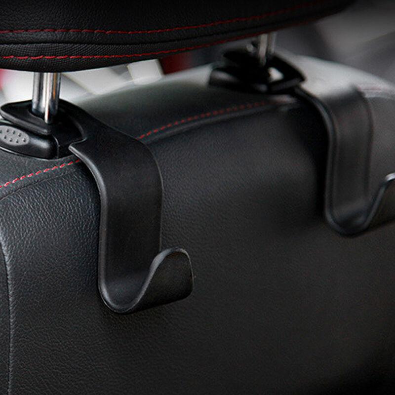 1x Black Car Seat Hook Purse bag Hanger Bag Organizer Holder Clip Accessories 3