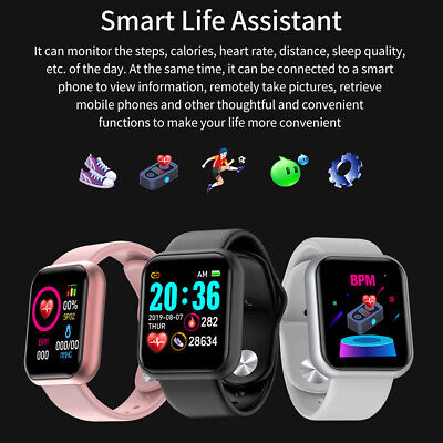 Waterproof Bluetooth Smart Watch Phone Mate For iphone IOS Android Samsung LG B 11