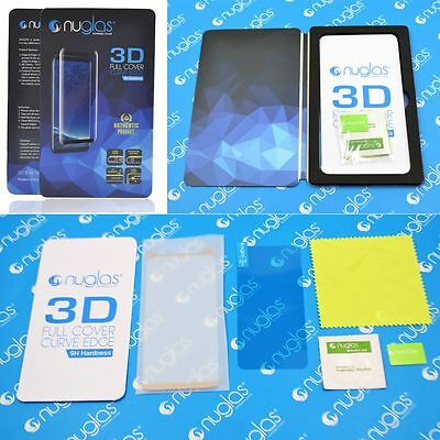 NUGLAS Tempered Glass Screen Protector Samsung Galaxy S10 5G S9 S8 Plus Note 9 8 3