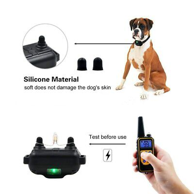 Dog Shock Collar With Remote Waterproof Electric For Large 880 Yard Pet Training 4