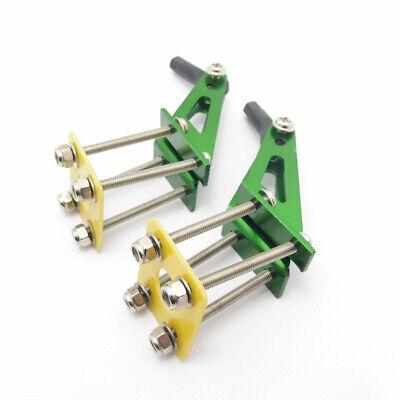 RC Car Steering Servo Nylon Half Arm Dual Arm Horn L Pitman Arm Rudder Φ3mm Hole