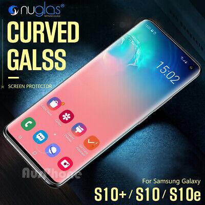 Galaxy S10 S9 S8 Plus e Note 9 8 NUGLAS Tempered Glass Screen Protector Samsung 9
