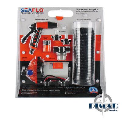 Seaflo Kit Lavaggio Ponte Sentine Bici 12V.  19 Lit.min. Barca Camper Nautica 4