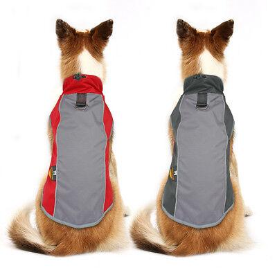 Dog Winter Coat Waterproof Pet Reflective Fleece Clothes Jacket French Bulldog 12
