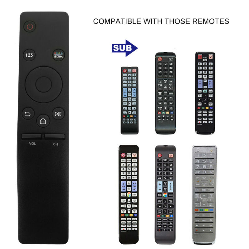 4K TV HD Smart Remote Control For SAMSUNG 6 7 8 9Series BN59-01259B/01260A Black 4