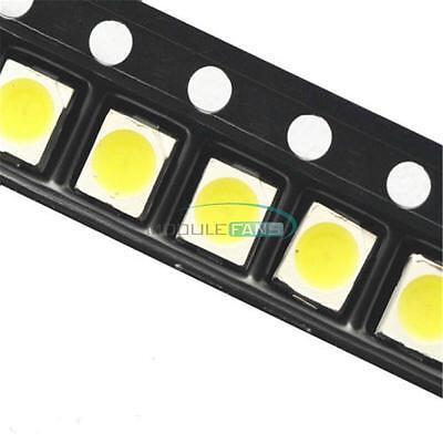 100PCS 3528 Yellow Ultra Bright Light Diode 1210 SMD SMT PLCC-2 LED MF
