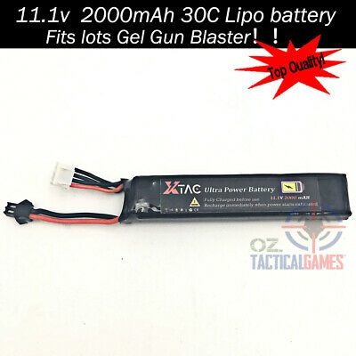 11.1v / 7.4v battery B3 Balance charger Gel Ball Blaster Jinming M4A1 Upgrade OZ 2