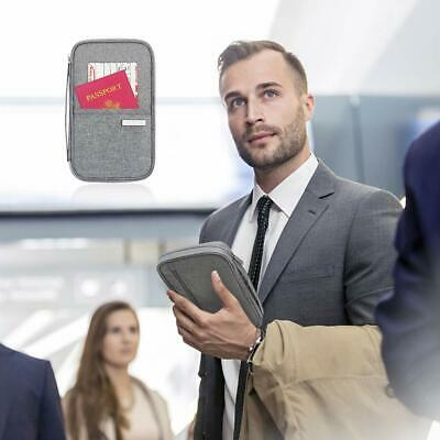 Travel Wallet Family Passport Holder Document Organizer Bag ID Credit Card Purse 4