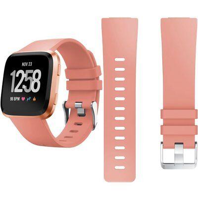 Fitbit Versa /Lite Replacement Silicone Watch Wrist Sports Band Strap Wristband 8