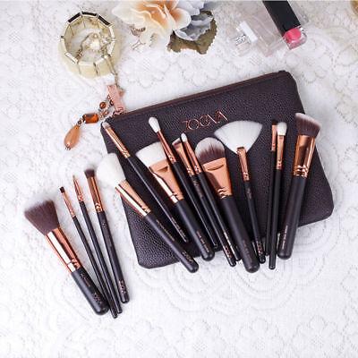 15 Make-up Pinsel Make-up Pinsel Set Schönheit Werkzeuge Powder Brown Black Rose 7