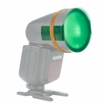 20PCS Color Filters For Godox V1 TTL Round Head Portable Flash Speedlite 9
