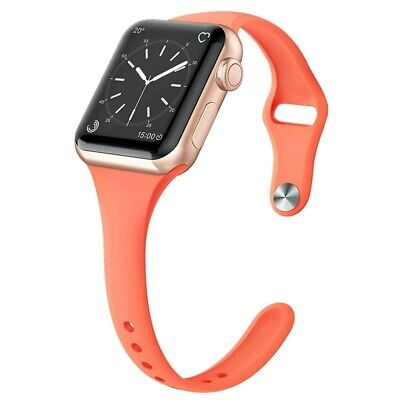 For Apple Watch Series 5/4/3/2 Replacement Silicone Soft Sport iWatch Band Strap 10