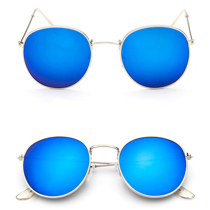 Fashion Mirrored Cat Eye Oversized Classic Retro Design Men Women Sunglasses 5