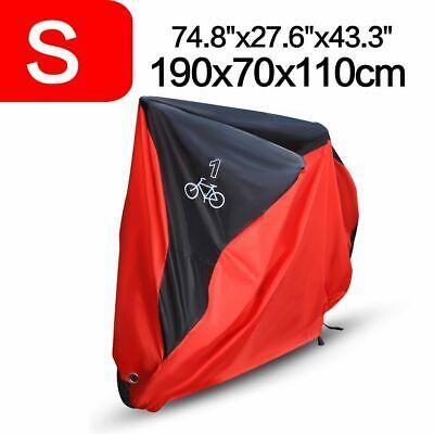 Single/Double/Triple Bicycle Bike Cycle Cover Waterproof Rain Dust Sun Protector 4