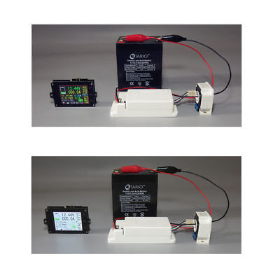 Wireless Battery Monitor Meter DC 120V 300A VOLT AMP AH SOC Remaining Capacity 7