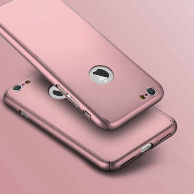 Case for Apple iPhone 6 7 8 5 SE Plus XS Cover 360 Luxury Thin Shockproof Hybrid 5