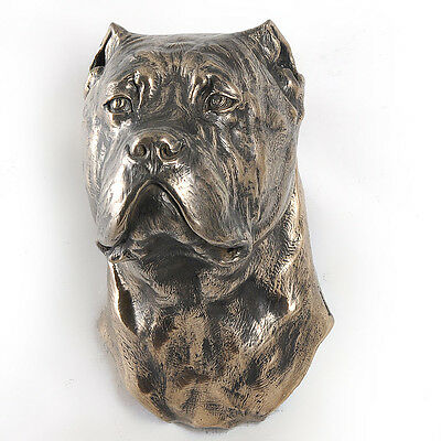 Cane Corso, dog statuette to hang on the wall, UK 2