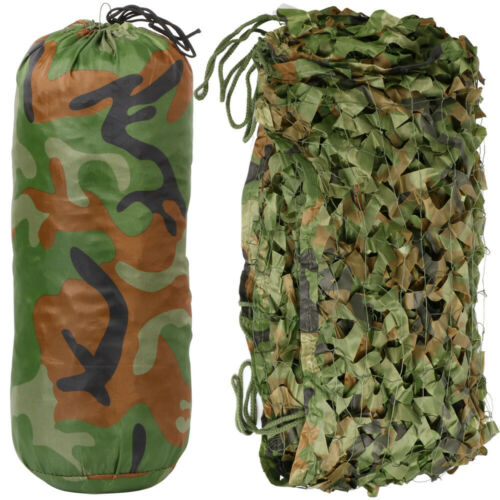 Camouflage Net Camo Hunting Shooting Hide Army Camping Woodland Netting 5M x1.5M 4
