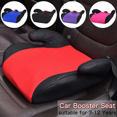 Car Booster Seat Chair Cushion Pad For Toddler Children Kids 3-12 Years Sturdy 2