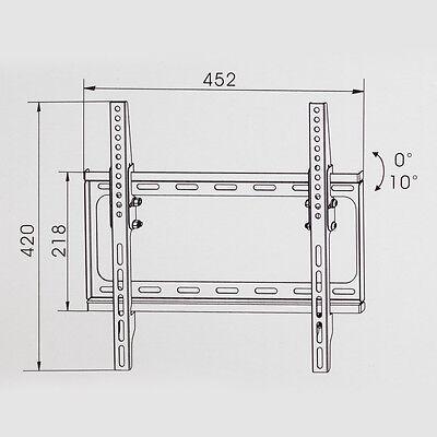 LCD Plasma TV Wandhalter Wandhalterung neigbar kippbar LED 3D 26 - 55 Zoll neu