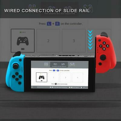 For Nintendo Switch Joy-Con (L/R) Wireless Bluetooth Controllers Set - Neon New 4