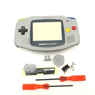 V2 IPS Backlight Backlit LCD For Game Boy Advance GBA and Pre-cut Shell Case 6