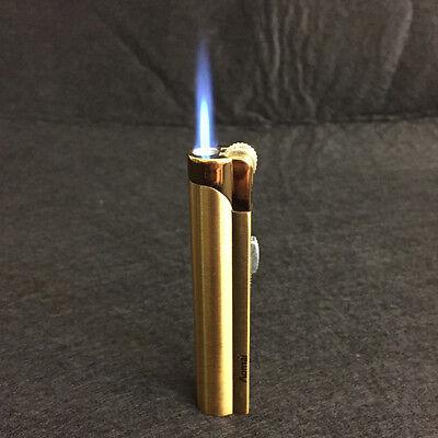Lot 5pcs  Windproof  Jet  Torch Lock Flame Cigar Cigarette Flint Lighter Gold 8