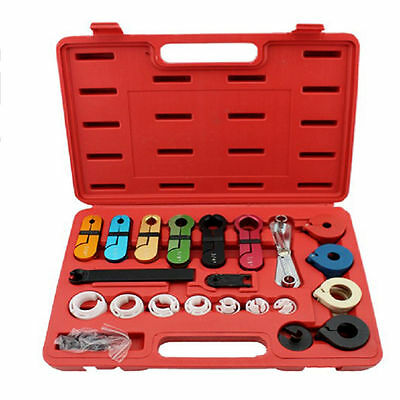 22PC Deluxe A/C Fuel Transmission Line Disconnect Tool Set KIT for Ford GM 1 set 2