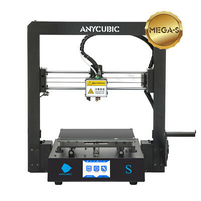 CA Anycubic 3D Printer i3 Mega-S All Metal Frame Colorful TFT Screen PLA ABS TPU 3