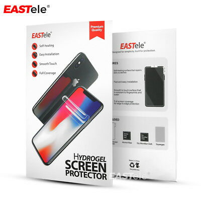 EASTele Samsung Galaxy S10 5G S9 S8 Plus Note 10+ 5G 9 HYDROGEL Screen Protector 10